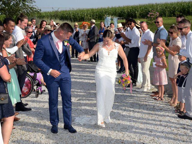 Le mariage de Valentin et Mélanie à Belpech, Aude 245