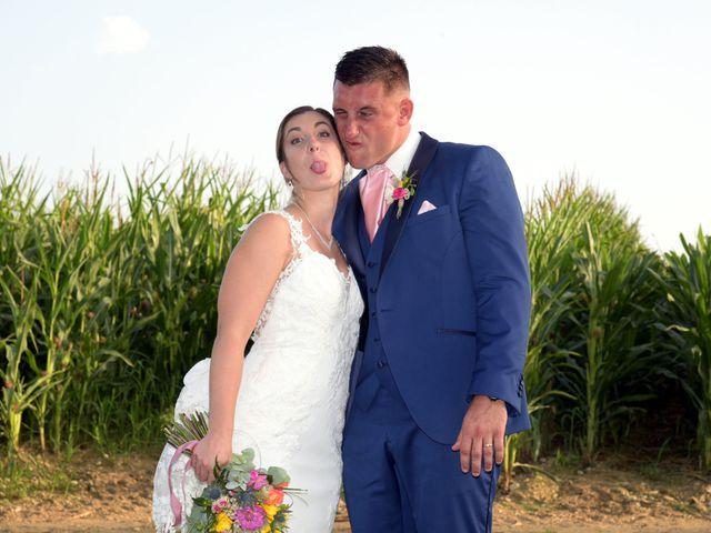 Le mariage de Valentin et Mélanie à Belpech, Aude 348