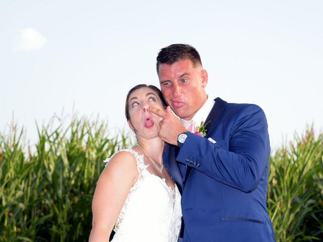 Le mariage de Valentin et Mélanie à Belpech, Aude 350