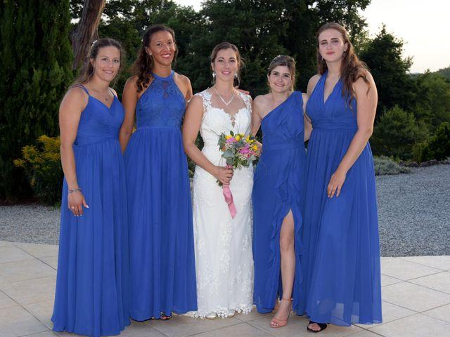 Le mariage de Valentin et Mélanie à Belpech, Aude 380