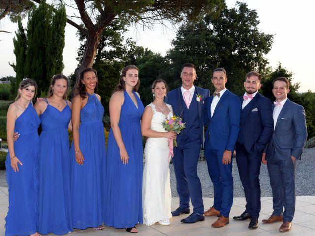 Le mariage de Valentin et Mélanie à Belpech, Aude 391
