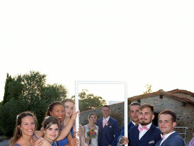 Le mariage de Valentin et Mélanie à Belpech, Aude 397