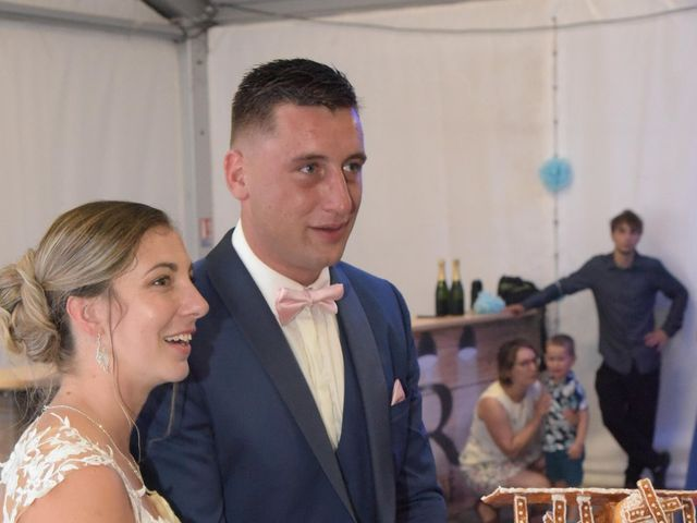 Le mariage de Valentin et Mélanie à Belpech, Aude 566