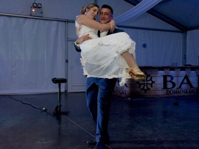 Le mariage de Valentin et Mélanie à Belpech, Aude 594