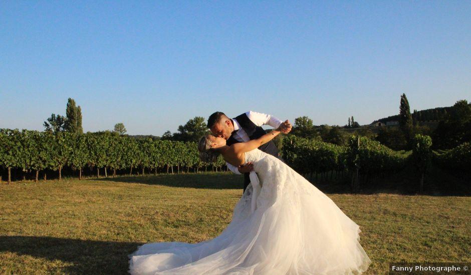Le mariage de Mathieu et Alissia à Montcaret, Dordogne