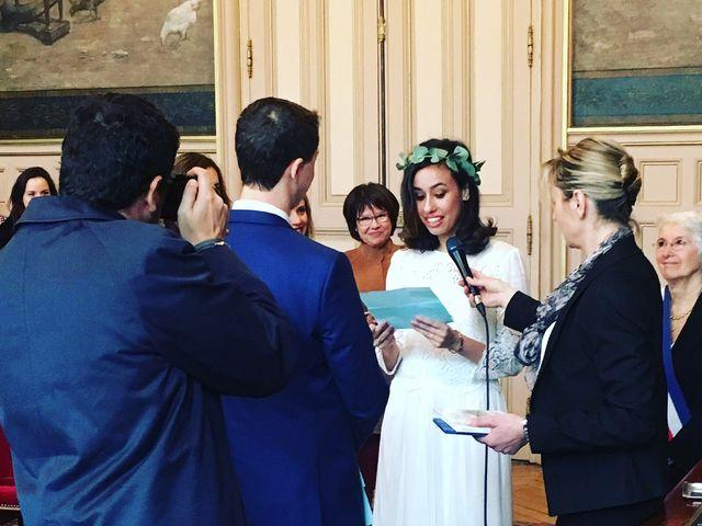 Le mariage de Carl et Raquel à Paris, Paris 4