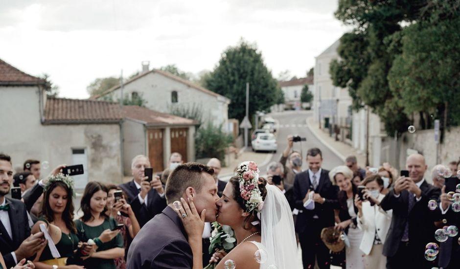 Le mariage de Thibaut et Blandine   à Campsegret, Dordogne