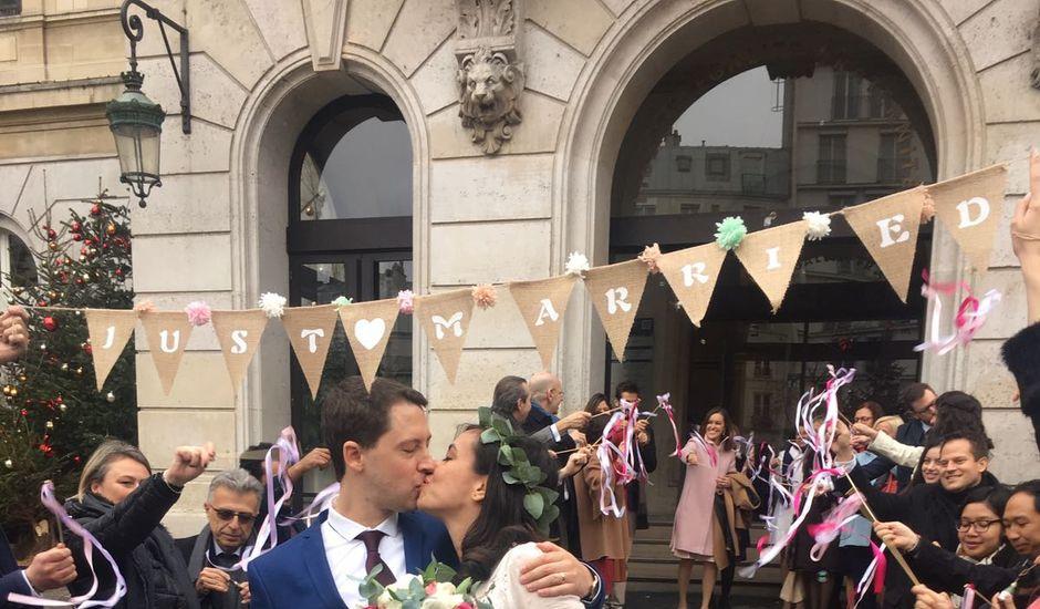 Le mariage de Carl et Raquel à Paris, Paris