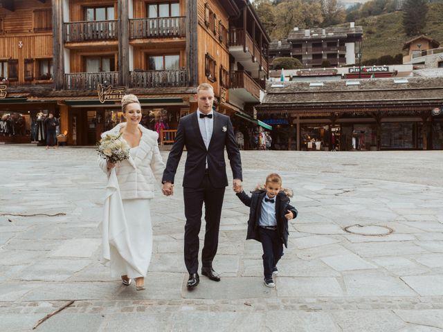 Le mariage de Sébastien et Angélique à La Clusaz, Haute-Savoie 3