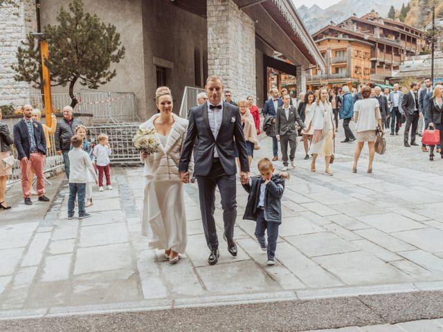 Le mariage de Sébastien et Angélique à La Clusaz, Haute-Savoie 7