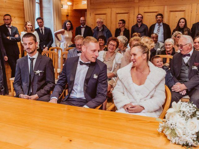 Le mariage de Sébastien et Angélique à La Clusaz, Haute-Savoie 9
