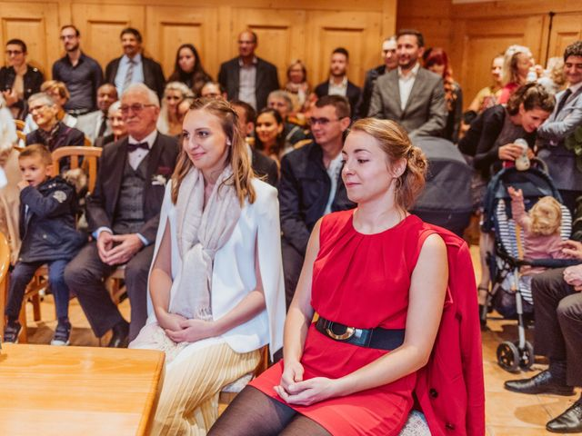Le mariage de Sébastien et Angélique à La Clusaz, Haute-Savoie 10