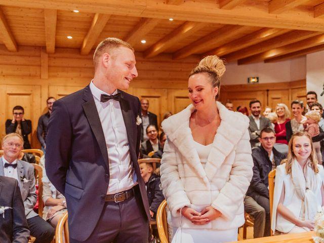 Le mariage de Sébastien et Angélique à La Clusaz, Haute-Savoie 13