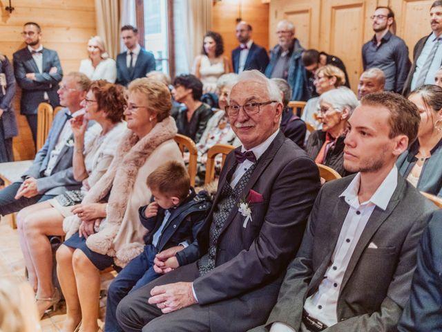 Le mariage de Sébastien et Angélique à La Clusaz, Haute-Savoie 16