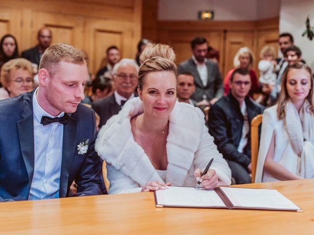 Le mariage de Sébastien et Angélique à La Clusaz, Haute-Savoie 17
