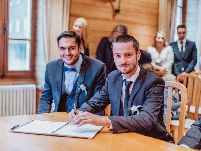 Le mariage de Sébastien et Angélique à La Clusaz, Haute-Savoie 21