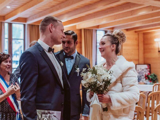 Le mariage de Sébastien et Angélique à La Clusaz, Haute-Savoie 28