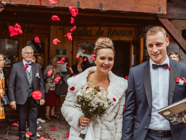Le mariage de Sébastien et Angélique à La Clusaz, Haute-Savoie 31