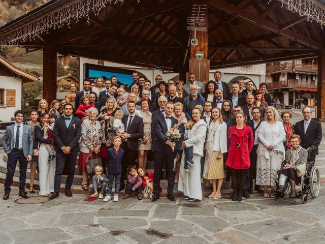 Le mariage de Sébastien et Angélique à La Clusaz, Haute-Savoie 32