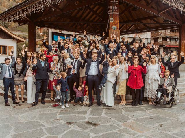 Le mariage de Sébastien et Angélique à La Clusaz, Haute-Savoie 33