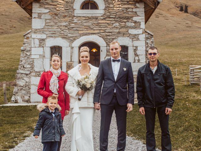 Le mariage de Sébastien et Angélique à La Clusaz, Haute-Savoie 36