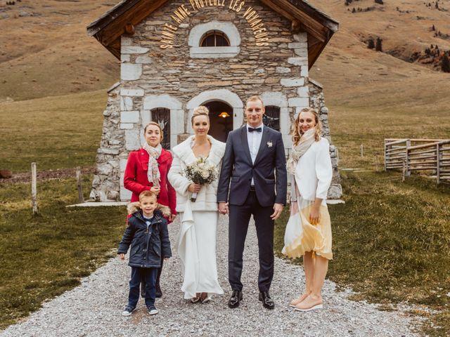 Le mariage de Sébastien et Angélique à La Clusaz, Haute-Savoie 37