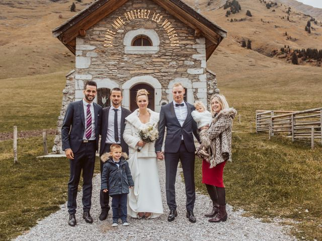Le mariage de Sébastien et Angélique à La Clusaz, Haute-Savoie 39