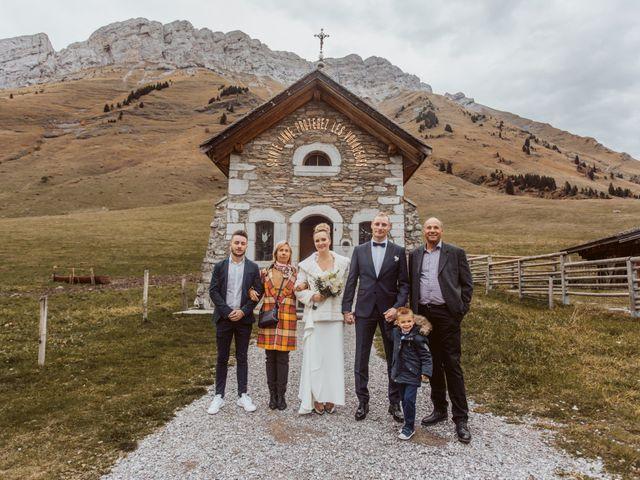 Le mariage de Sébastien et Angélique à La Clusaz, Haute-Savoie 41
