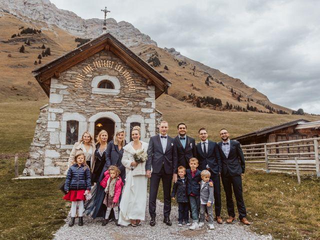 Le mariage de Sébastien et Angélique à La Clusaz, Haute-Savoie 43