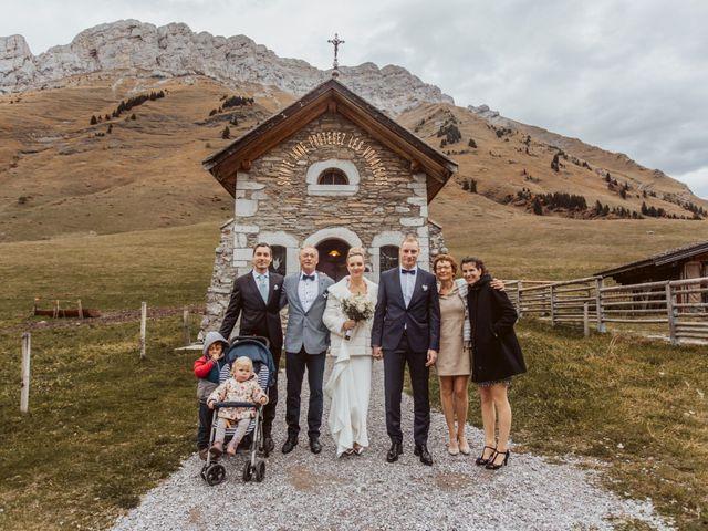 Le mariage de Sébastien et Angélique à La Clusaz, Haute-Savoie 47