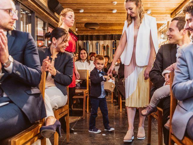 Le mariage de Sébastien et Angélique à La Clusaz, Haute-Savoie 61