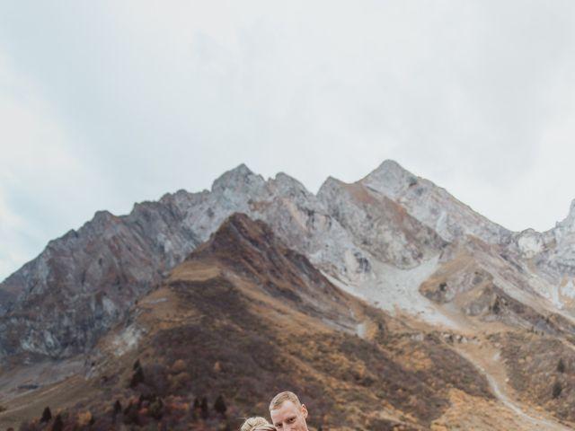 Le mariage de Sébastien et Angélique à La Clusaz, Haute-Savoie 75