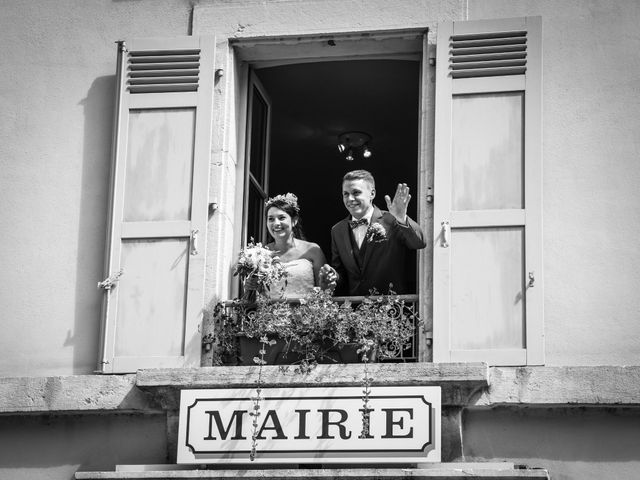 Le mariage de Marc et Gwendoline à Collonges, Ain 23