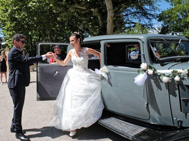 Le mariage de Guillaume et Lise à Brue-Auriac, Var 16