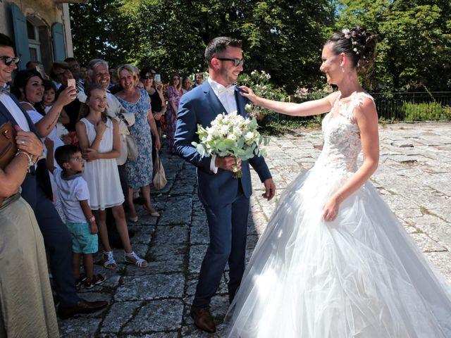 Le mariage de Guillaume et Lise à Brue-Auriac, Var 17