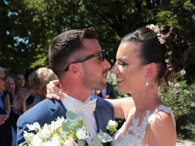Le mariage de Guillaume et Lise à Brue-Auriac, Var 18