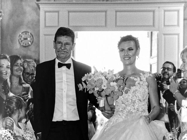 Le mariage de Guillaume et Lise à Brue-Auriac, Var 24