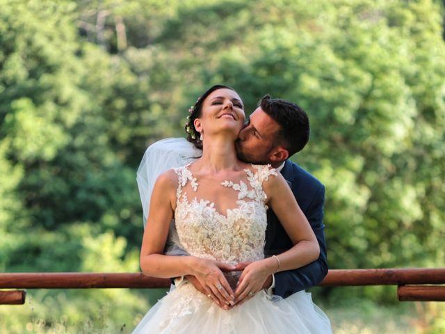Le mariage de Guillaume et Lise à Brue-Auriac, Var 36