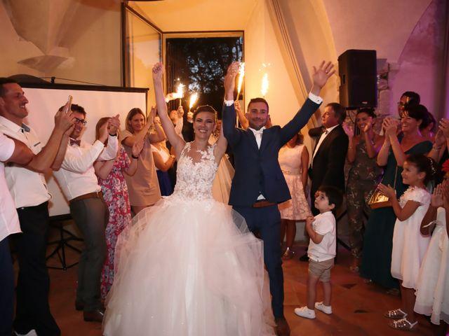 Le mariage de Guillaume et Lise à Brue-Auriac, Var 55