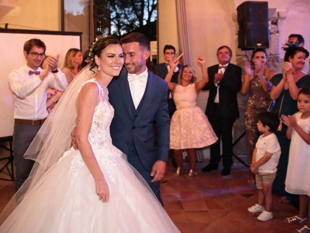 Le mariage de Guillaume et Lise à Brue-Auriac, Var 56