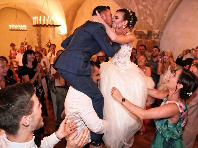 Le mariage de Guillaume et Lise à Brue-Auriac, Var 58