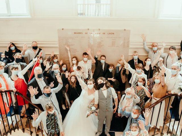 Le mariage de Simon et Camille à Laon, Aisne 24