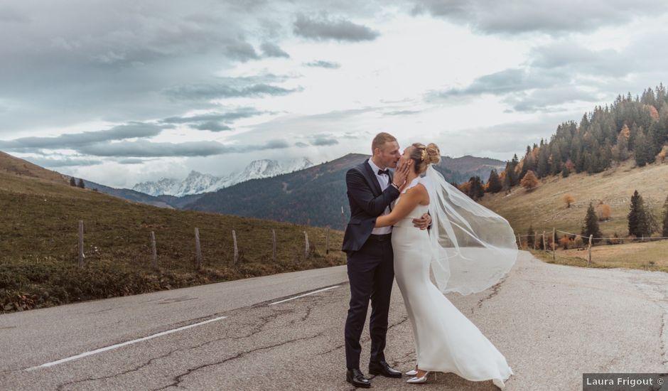 Le mariage de Sébastien et Angélique à La Clusaz, Haute-Savoie