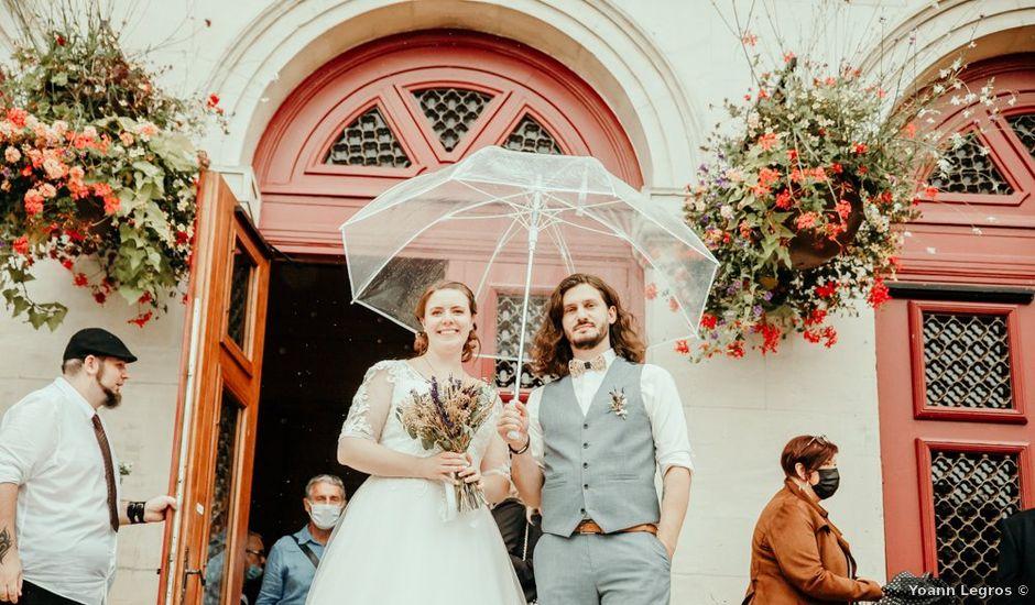 Le mariage de Simon et Camille à Laon, Aisne