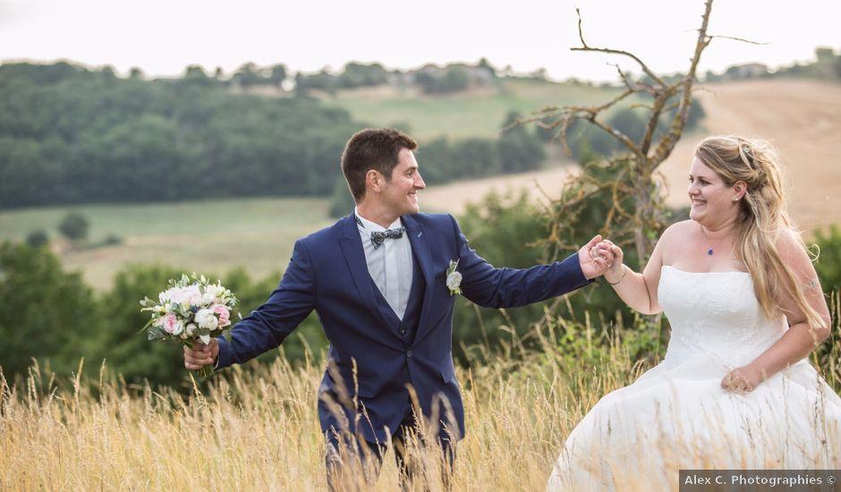 Le mariage de Geoffrey et Florence à Lavaur, Tarn