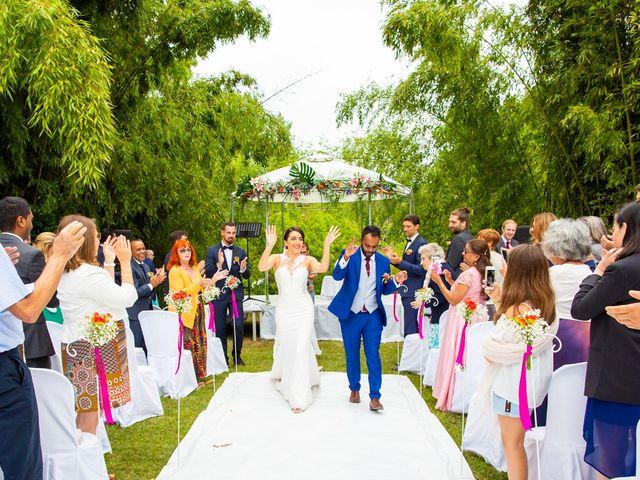 Le mariage de Nadish et Emmanuelle à Hossegor, Landes 32