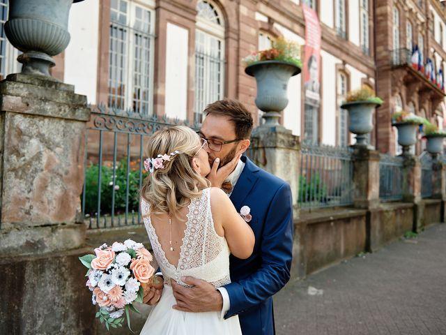 Le mariage de Mathieu et Claire à Mollkirch, Bas Rhin 1