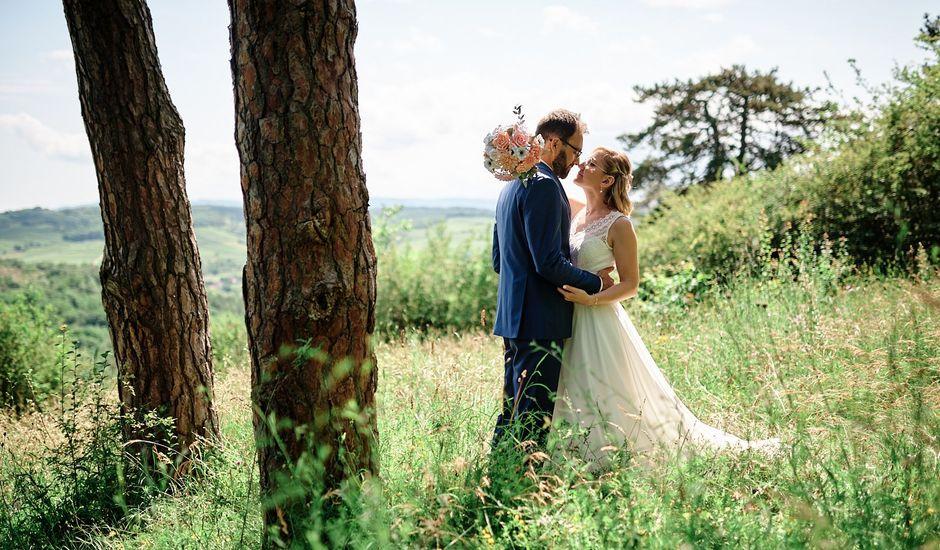 Le mariage de Mathieu et Claire à Mollkirch, Bas Rhin