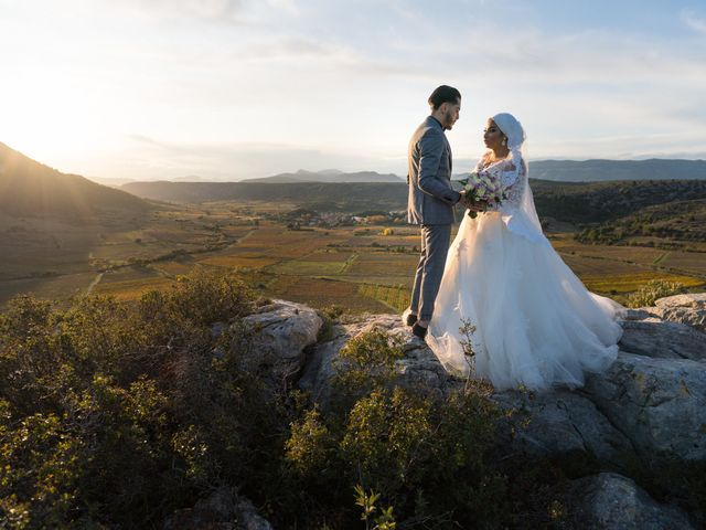 Le mariage de Amine et Maëlis à Rivesaltes, Pyrénées-Orientales 1