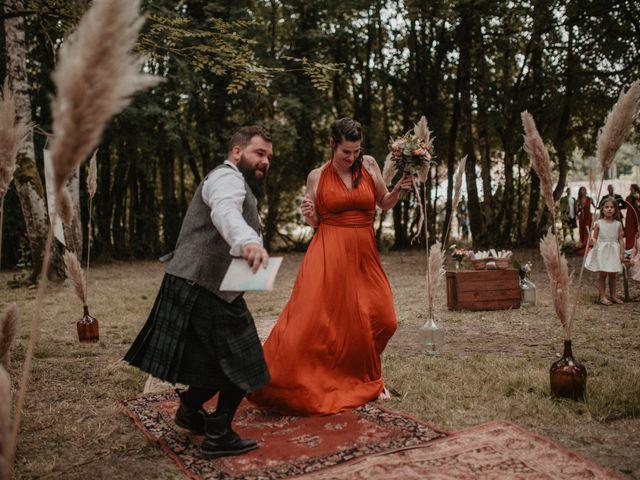 Le mariage de Romain et Amandine à Choué, Loir-et-Cher 34